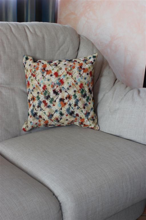 Cuscino arredo sfoderabile per letto e divano gobelin su misura - Cuscino per divano ...