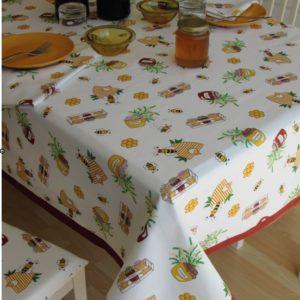 tovaglia copritavolo stampato coordinati cucina fantasia api