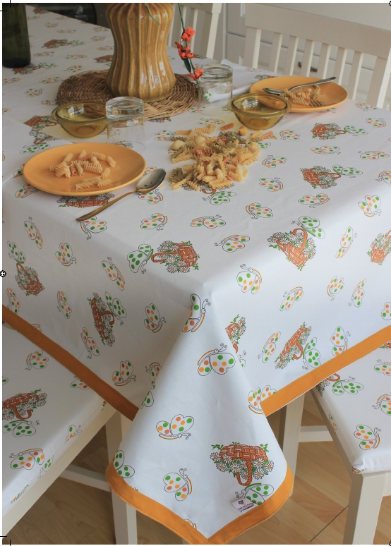 Tovaglia copritavolo stampato coordinati cucina fantasia farfalle - Coordinati cucina country ...