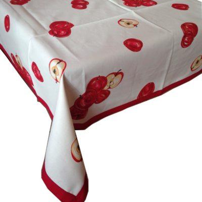 tovaglia copritavolo stampato mela rossa melinda