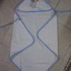 Accappatoio Triangolo bambino neonato in spugna personalizzato