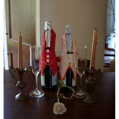 Idee regalo copribottiglia per vino spumante champagne
