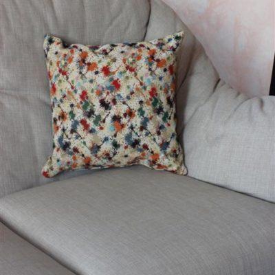 cuscino arredo sfoderabile per letto e divano gobelin su misura
