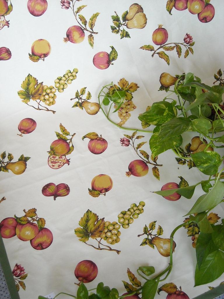 tovaglia copritavolo stampato coordinati cucina fantasia frutta