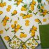 tovaglia copritavolo stampato coordinati cucina fantasia limoni