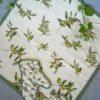 tovaglia copritavolo stampato coordinati cucina fantasia olive
