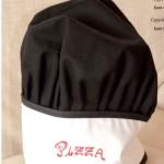 Cappello cuoco uomo bambino donna con ricamo personalizzato