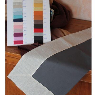 Completo letto lenzuola copripiumino su misura cotone Alessandra