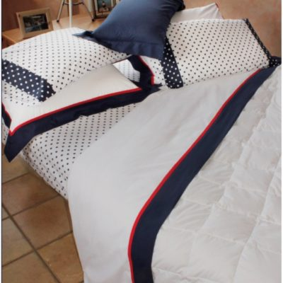 Completo letto lenzuola copripiumino su misura cotone Liverpool