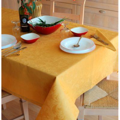 Tovaglia copritavolo elegante fiandra italiana cotone