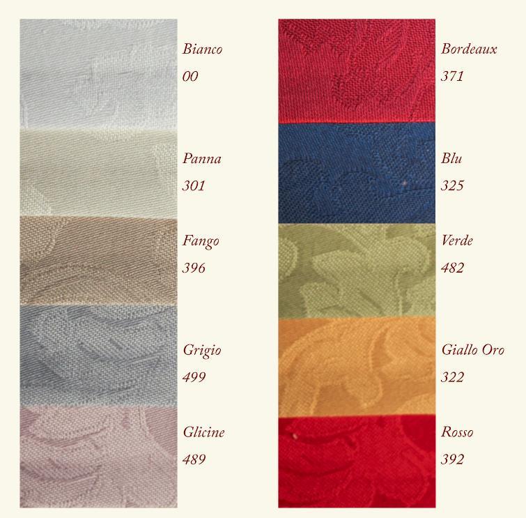 Paño Flandes con Servilletas en 10 Colores Algodón 100/% Incluso a Medida